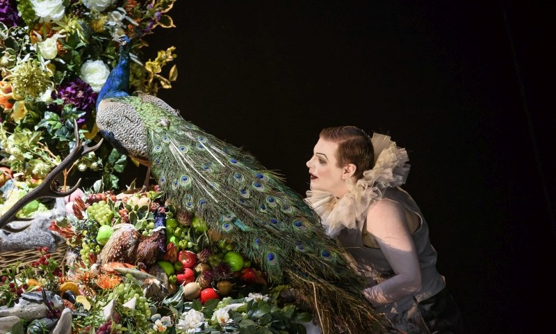 Eine Impression aus der Oper Saul von Barrie Kosky.