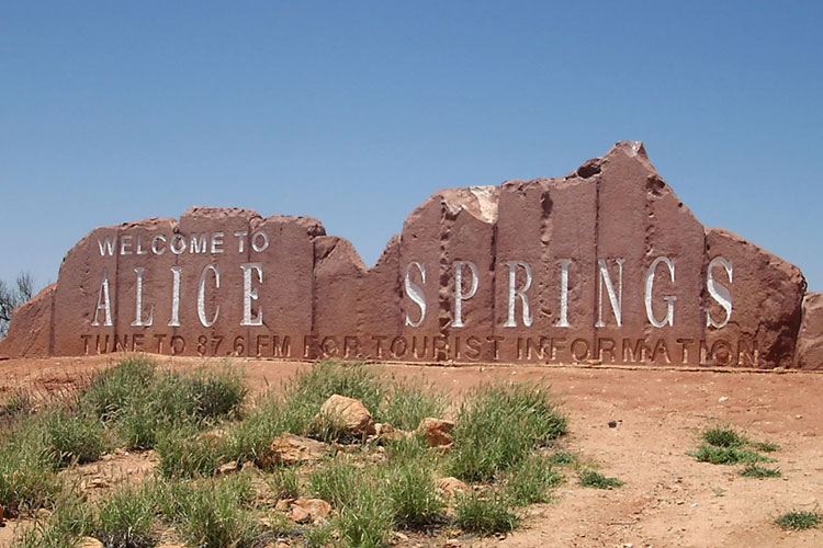 Welcome in Alice Springs
