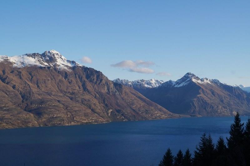 Aussichtsplattform der Gondola: Blick über Lake Wakatipu