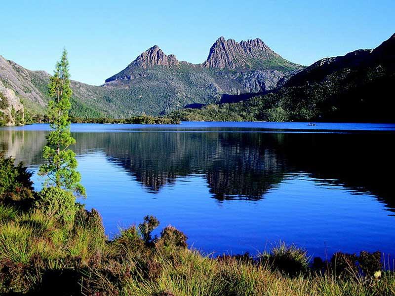 Cradle-Mountain auf Tasmanien