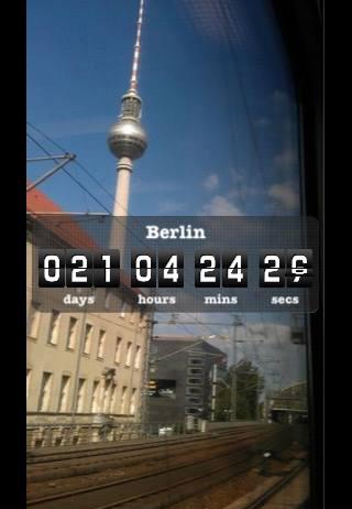 Corey zählte die Tage bis zum Abflug nach Berlin