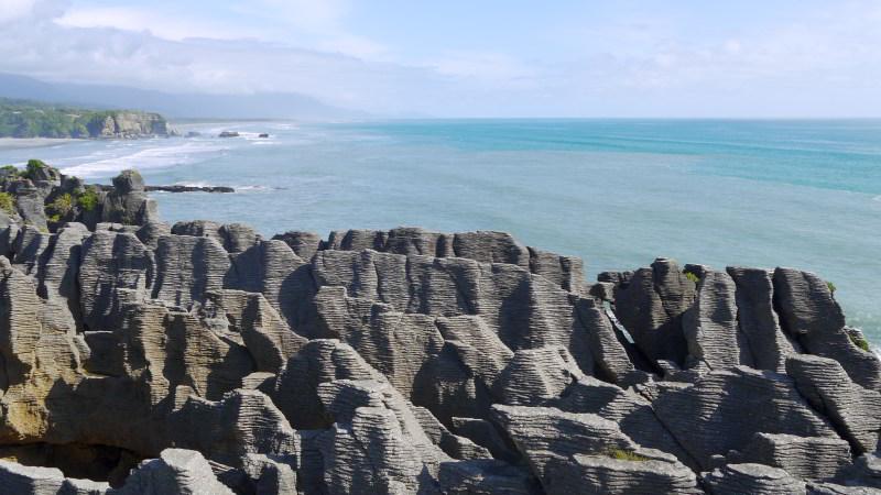 Punakaikis Pancake Rocks sollen das Ende des 10. Great Walks werden.