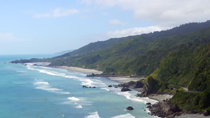 Die Westküste der Südinsel - perfekt für eine mehrtägige Wandertour