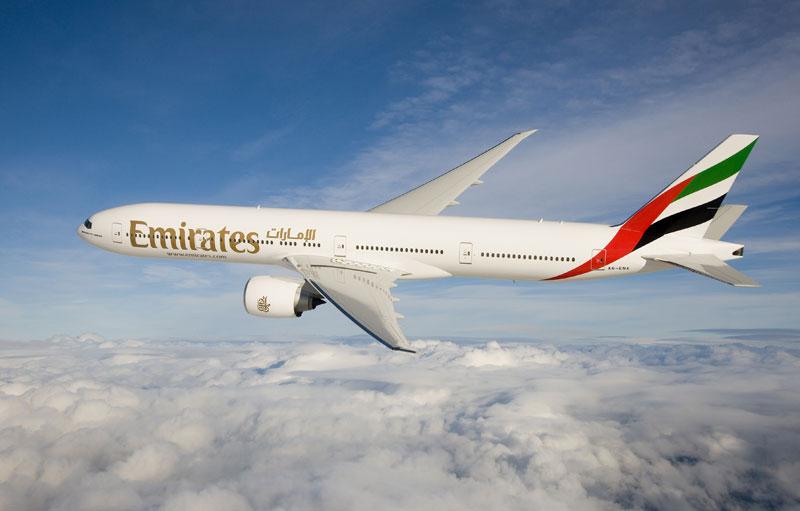 Emirates Flieger