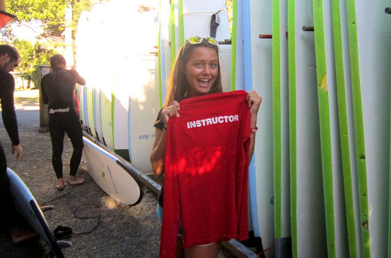 Ich bin Surfinstructor