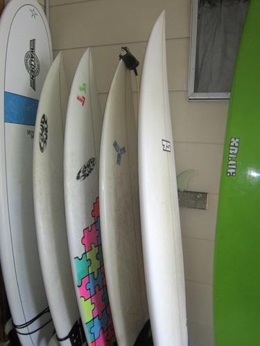 Die neuen Surfbretter