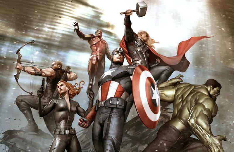 Marvel AdiGranov - Keyframe For The Avengers