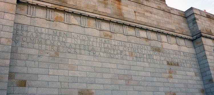 Erinnerung an die Anzacs und ihre Taten