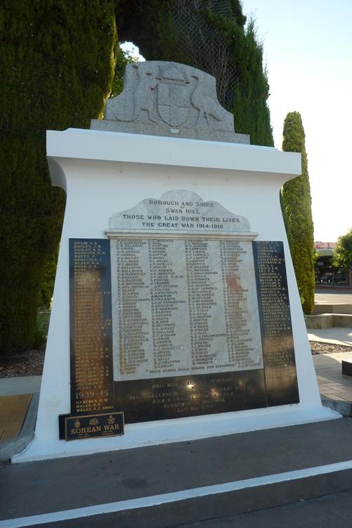 Denkmal für die gefallenen Anzacs