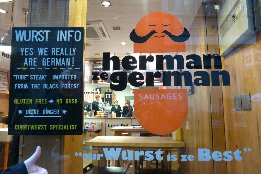 Deutsche Wurst in London