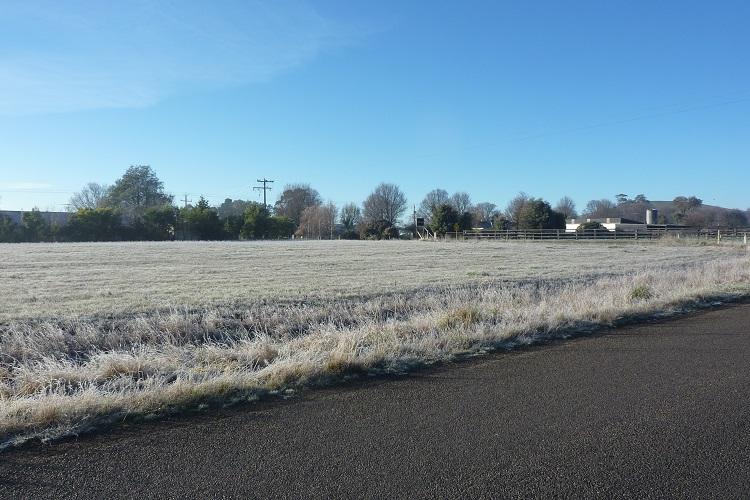 Frostige Morgen