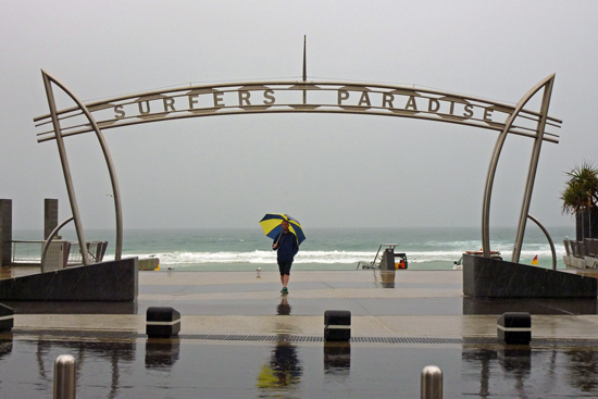 No Sunshine in Surfers Paradise