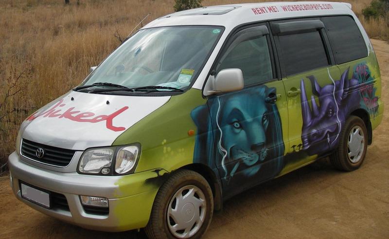 Wicked Campers Van