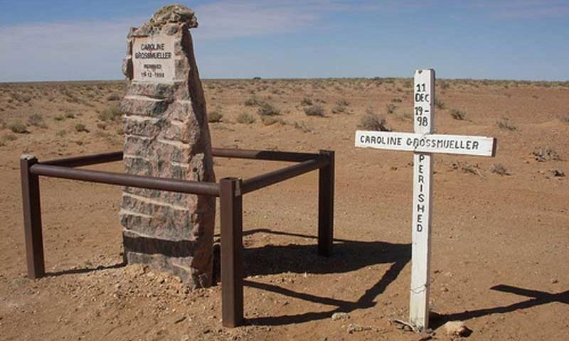 Denkmal im Outback
