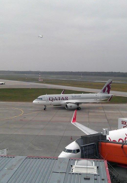 Landeanflug auf Berlin