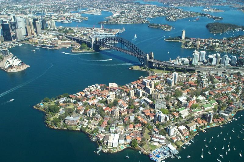 New South Wales: Sydney aus der Luft