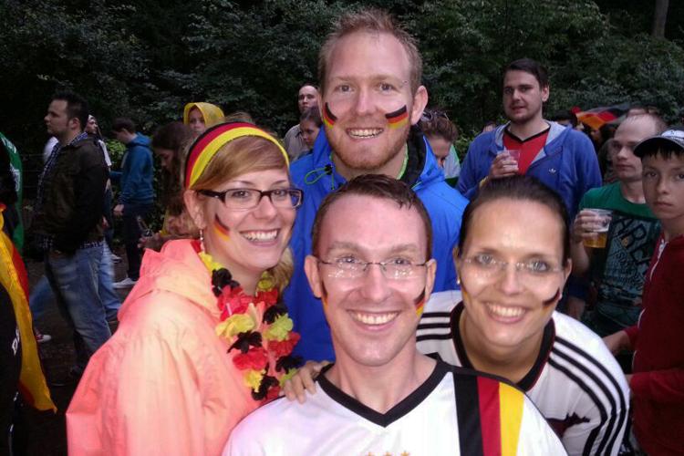 Weltmeister-Feier auf der Fanmeile in Berlin