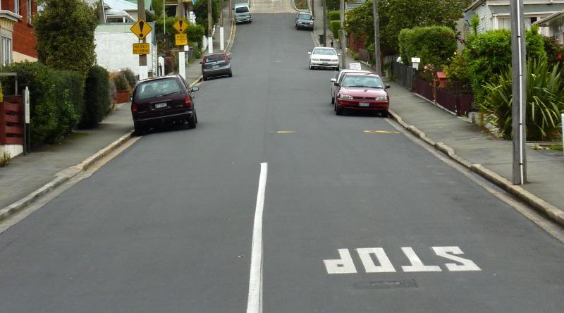 Vorsicht: Linksverkehr in Neuseeland