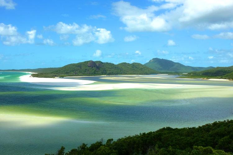 Whitehaven Beach in den Whitsundays