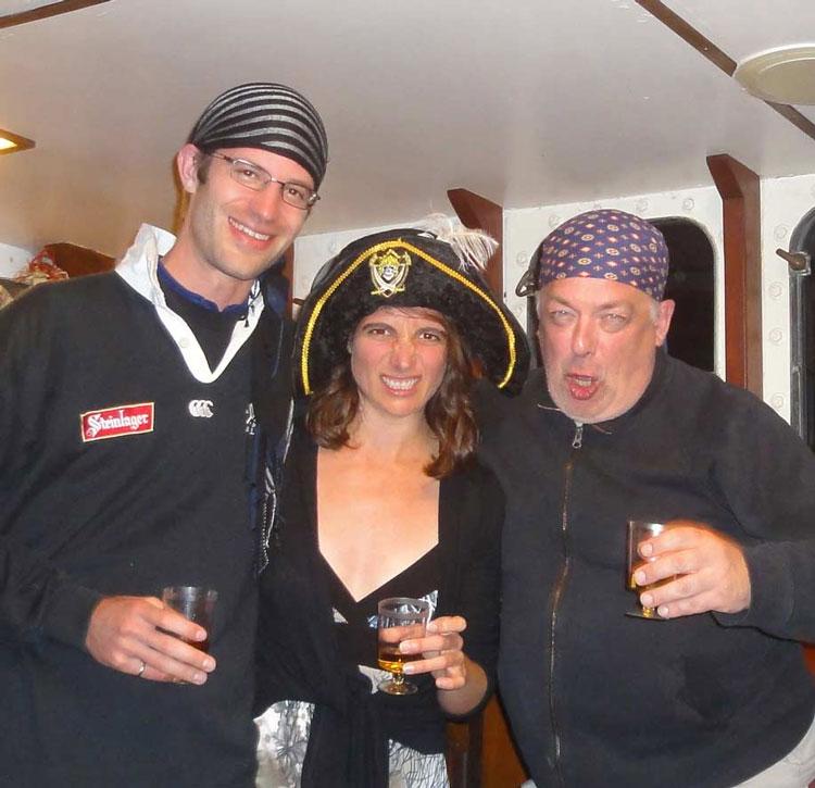 Nie mit Piraten sprechen!