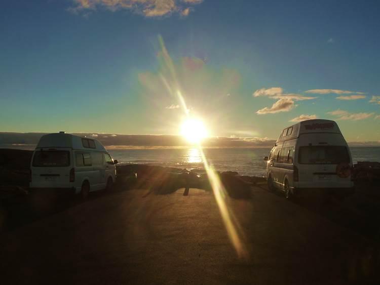 Camper von Travellers Autobarn