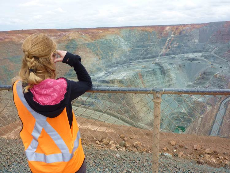 Super Pit Goldmine in Kalgoorlie