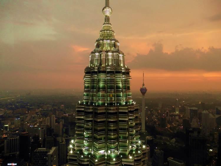 Aussicht von den Petronas Towers