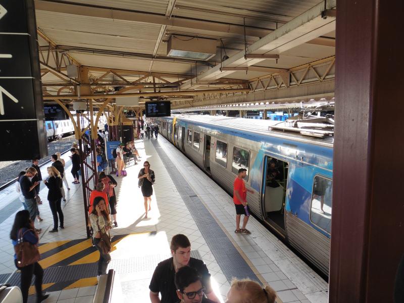 Eine PTV-Metro in Melbourne. ©Foto: Stefanie Stadon