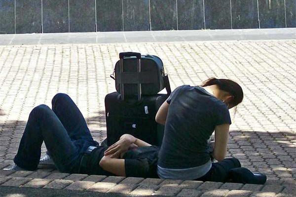 Backpacker (Archivbild)