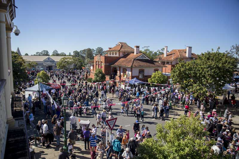 Mary Poppins Festival in Maryborough