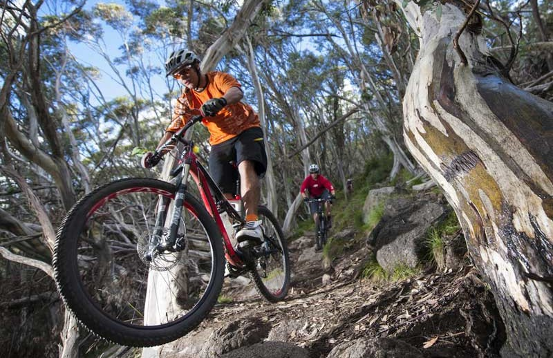 Mountainbike in Western Australia