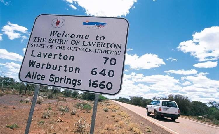 Entlang der Strecke im Outback