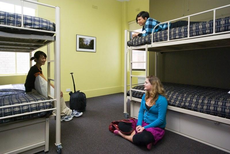 """die """"klassische"""" Lösung: Mehrbettzimmer in einem Hostel"""
