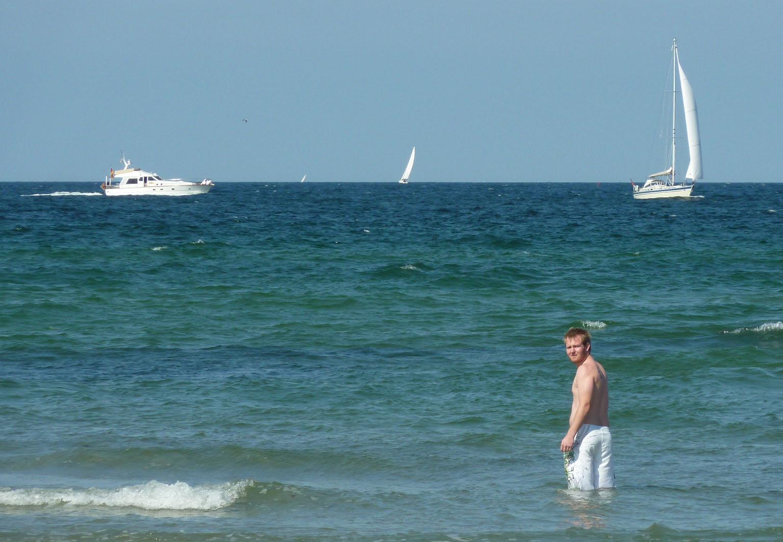 Ein Sonntag am Meer